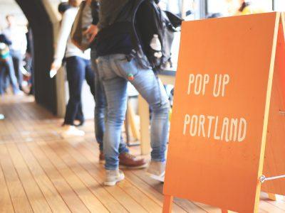 「POP UP Portland」を開催します